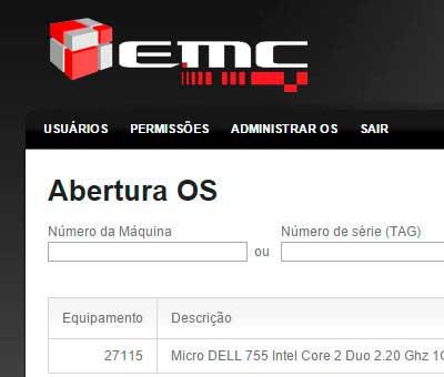 EMC Sistema de OS
