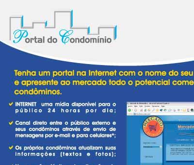 Flyer Portal Condomínio