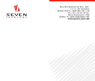 Papel Timbrado Seven Internet