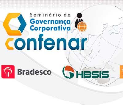 Cenografia Seminário de Governança Corporativa Confenar